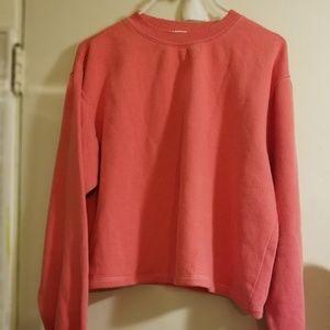 New brandy melville  pink sweatshirt